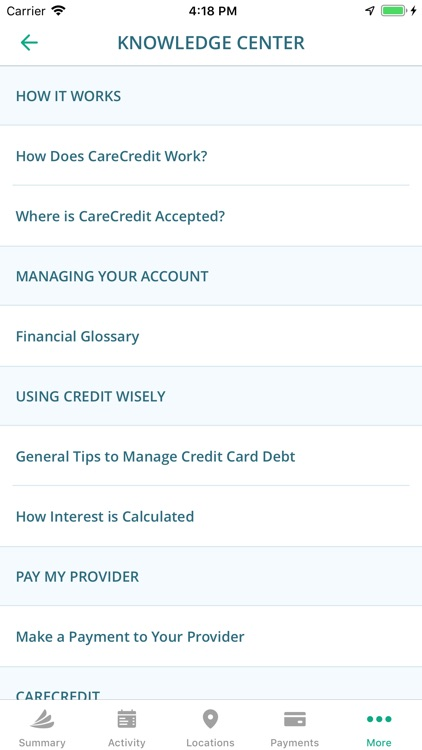 CareCredit Mobile App screenshot-6