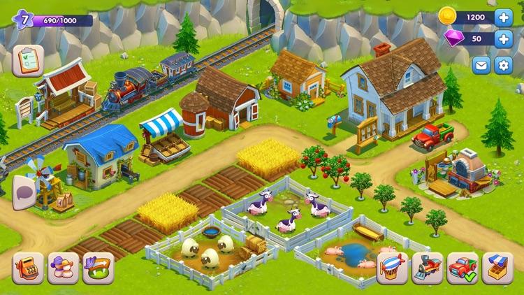 Golden Farm: Fun Farming Game screenshot-0