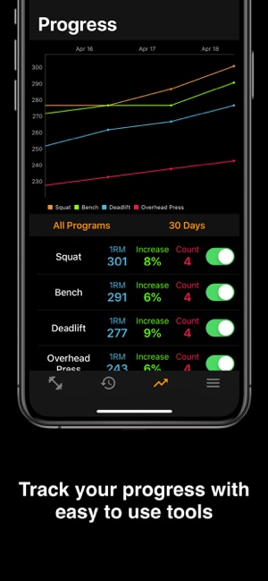 Clank: Weight Lifting on the App Store