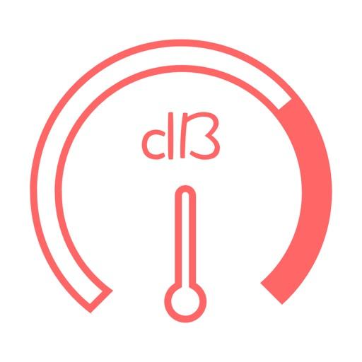 爱分贝-简洁分贝测量仪 icon
