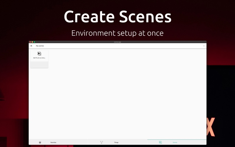 nymea:app for Mac