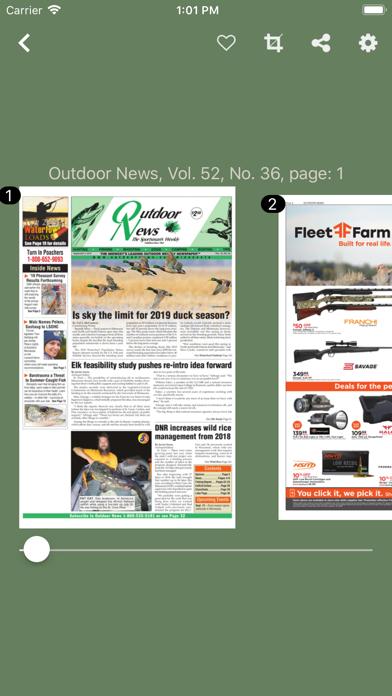 Outdoor News screenshot three