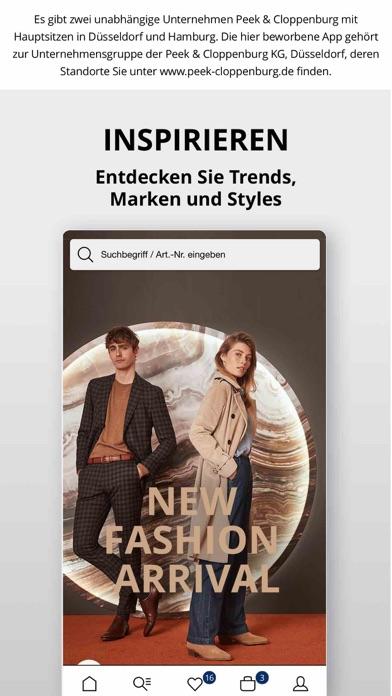 Herunterladen Peek&Cloppenburg* Fashion Shop für Pc