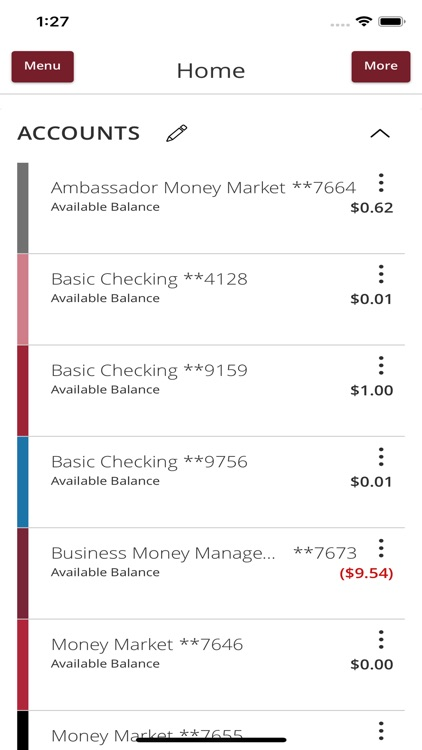 Stanford FCU Mobile Banking screenshot-2
