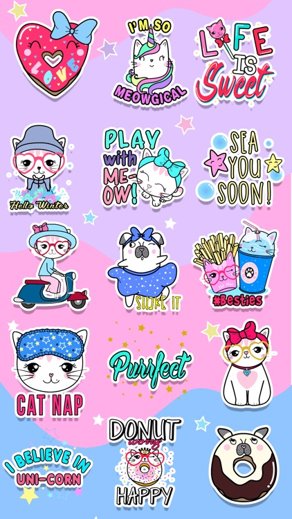 Meowgical: Animated Stickers