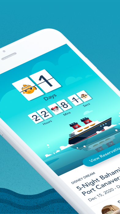 Disney Cruise Line Navigator Screenshot