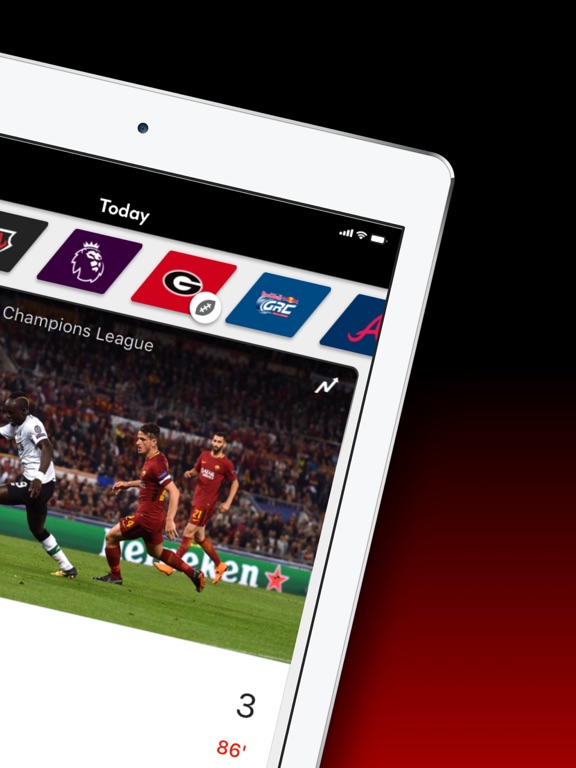 Bleacher Report Live – App Store Application – Xarold