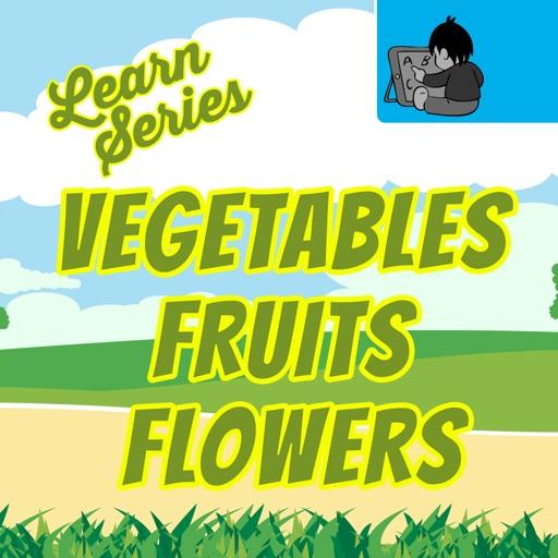 Learn Vegetable,Fruit & Flower