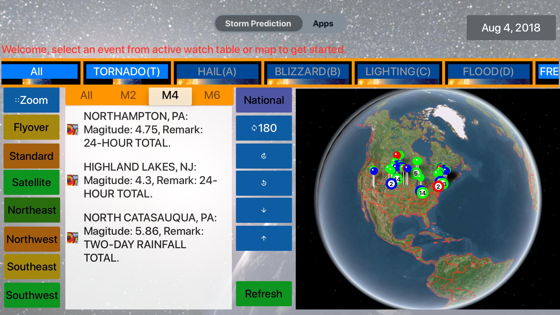 Instant NOAA Storm Lite screenshot 16