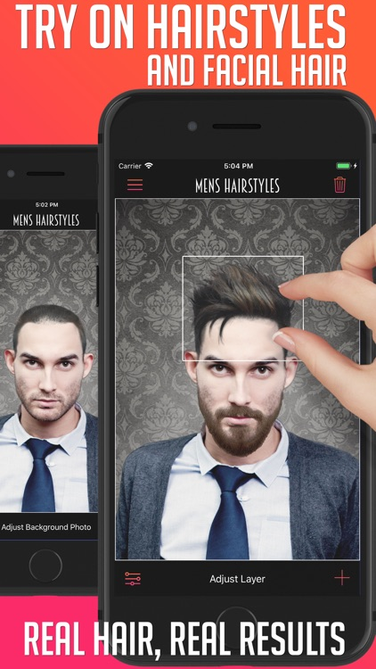 Men's Hairstyles screenshot-0