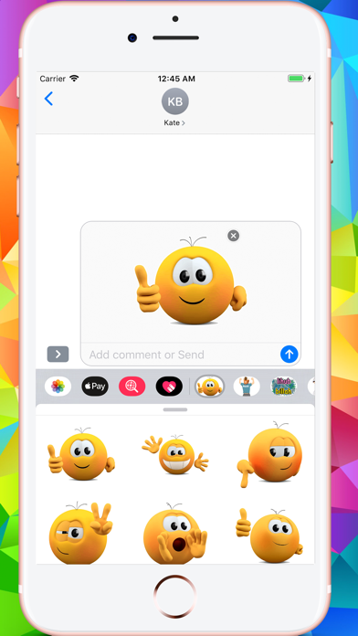 Kolobanga Sticker For iMessage APK for Android - Download Free