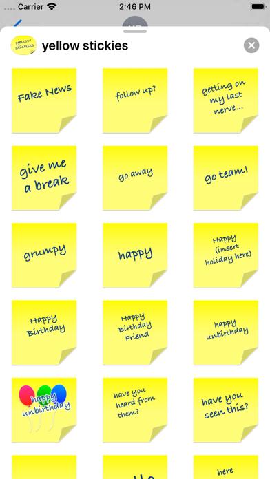 yellow stickies screenshot 9