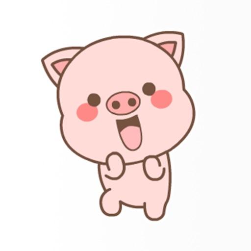 PinkPigStickers-Emojis