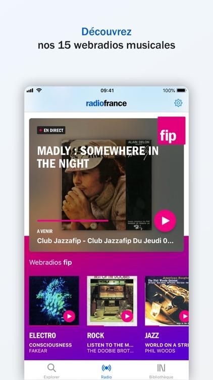 Radio France - direct, podcast screenshot-6