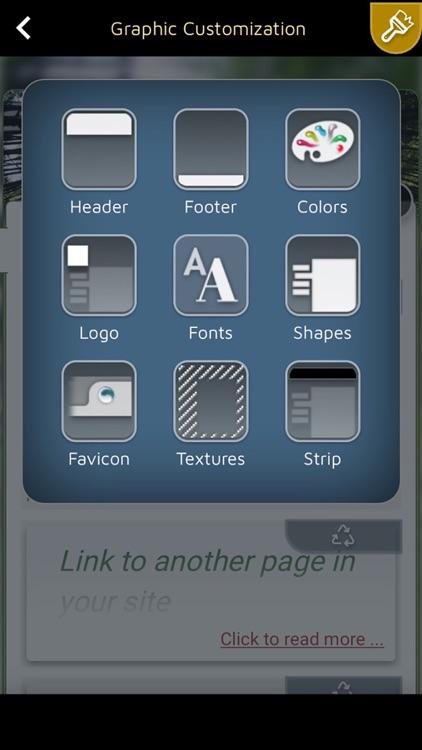 SimDif Website builder screenshot-4