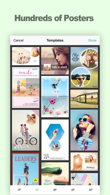 Encollage - Pic Collage Maker screenshot-4