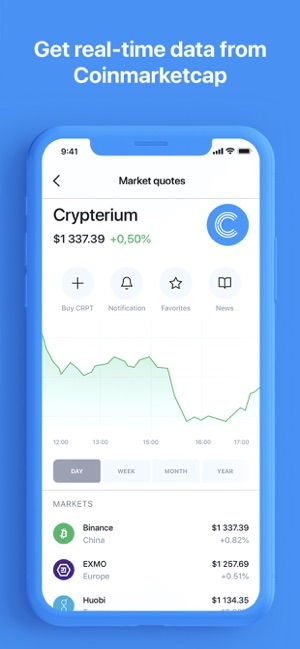 wallets to store crypterium cryptocurrency