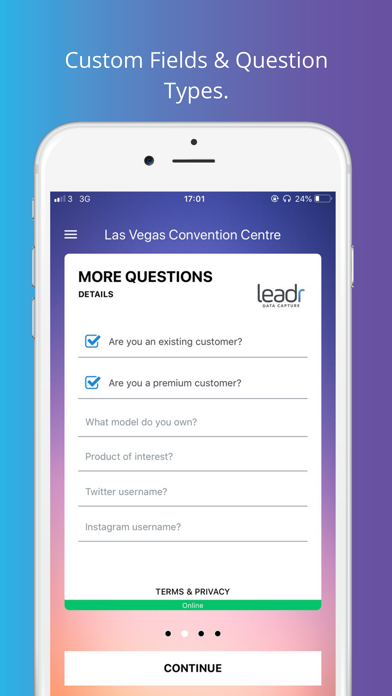 leadr Data Capture screenshot three