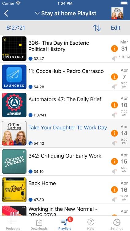 iCatcher! Podcast Player screenshot-4