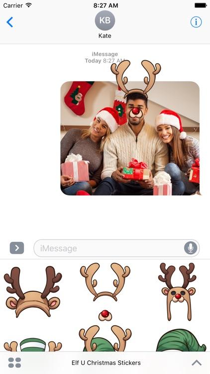 Elf U Christmas Stickers