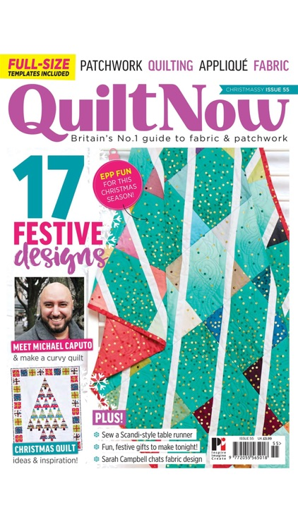 Quilt Now Magazine screenshot-7