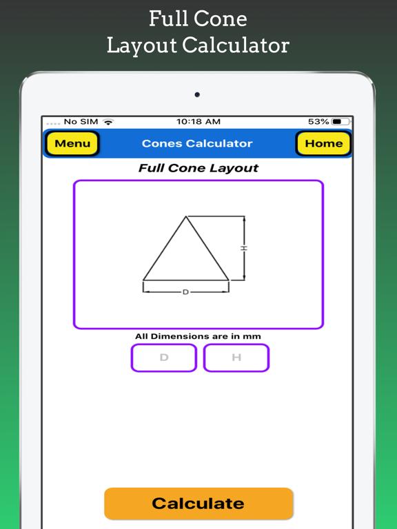 Cones Calculator screenshot 12