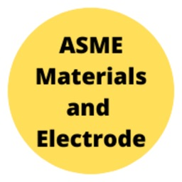 ASME Materials and Electrodes