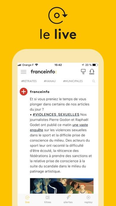 Screenshot #3 pour franceinfo: l'actu en continu