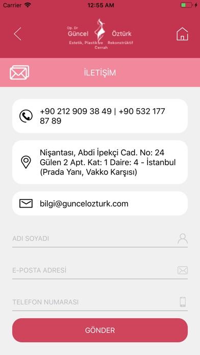 Op. Dr. Guncel Ozturk app image
