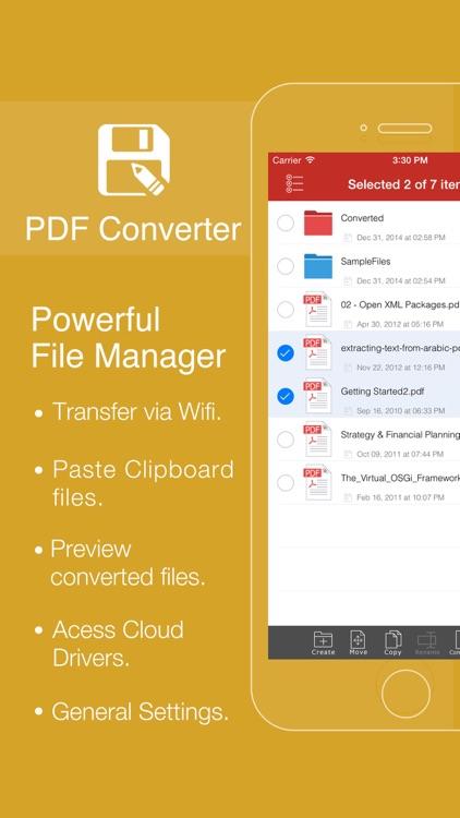 PDF Converter - PDF to Office