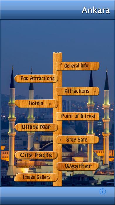 Ankara Offline Map Guide screenshot one