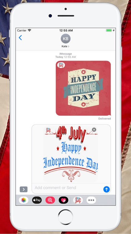 Happy 4th of July Stickers ! screenshot-4