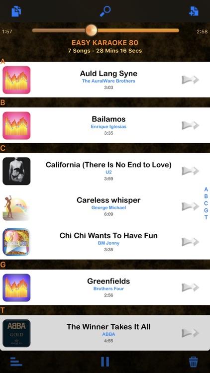 Karaoke Easy Listening Player screenshot-4
