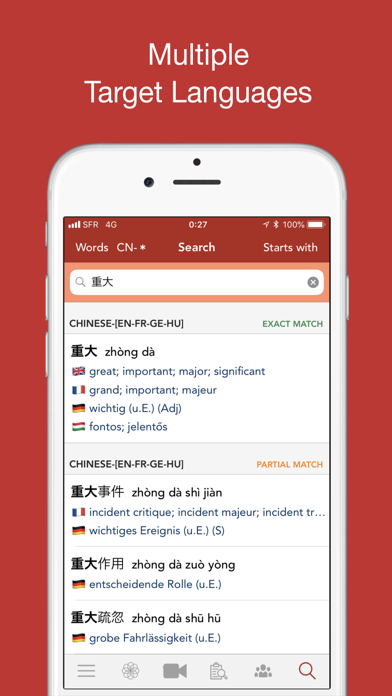 HanYou Offline OCR Chinese Dictionary / Translator - Translate Chinese Language into English by Camera, Photo or Drawing Screenshot 5