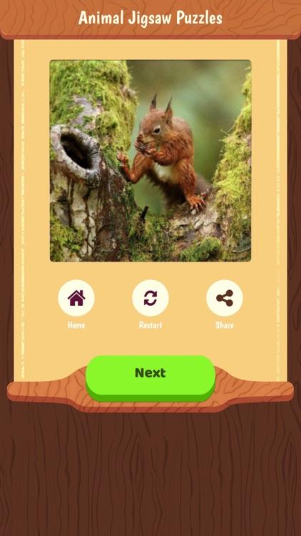 Animal Jigsaw Puzzles Game + screenshot-3