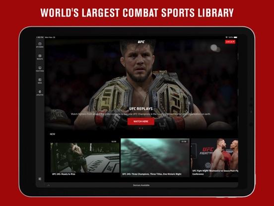UFC ® Screenshots