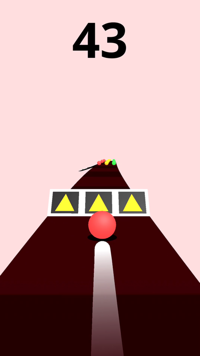 Screenshot for Color Road! in France App Store