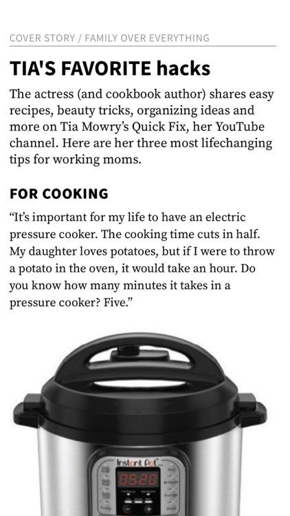 Working Mother Magazine screenshot-3
