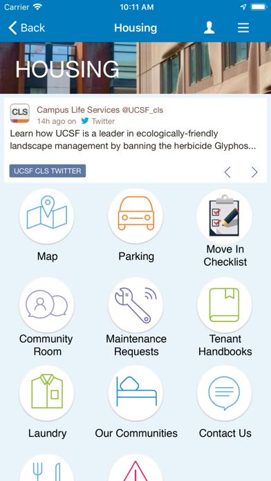 UCSF Mobile screenshot four