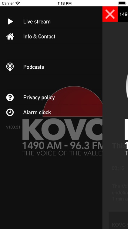 KOVC The Voice of the Valley