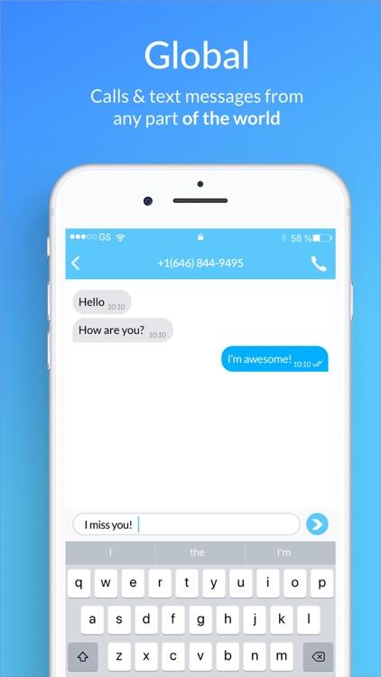Second Phone Number - SIMless screenshot-4