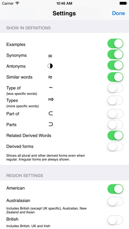 WordWeb Dictionary screenshot-2