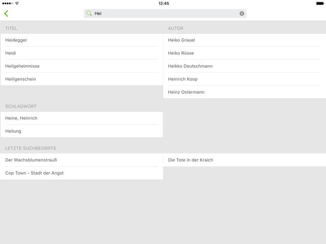 Onleihe Screenshot