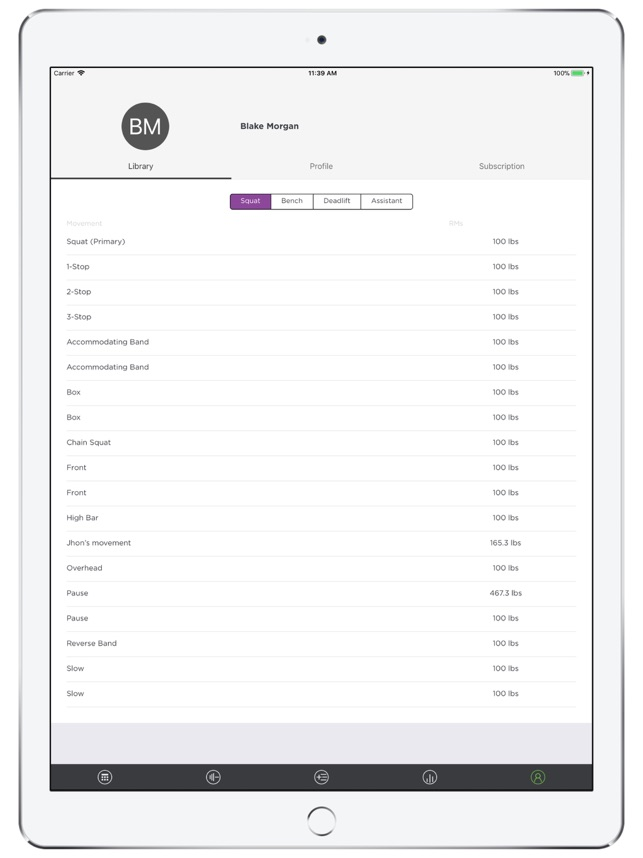 MyStrengthBook on the App Store