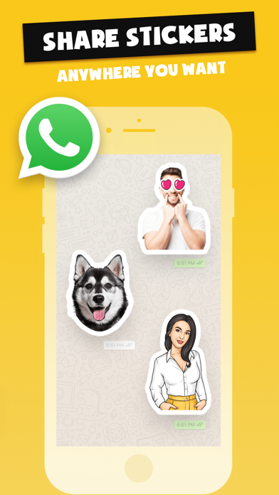 Stickers Funny of Meme & Emoji screenshot 5