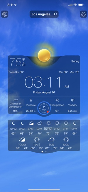 Weather Live゜ on the App Store