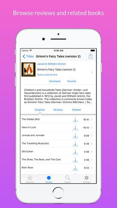 Screenshot for LibriVox Audio Books in United States App Store