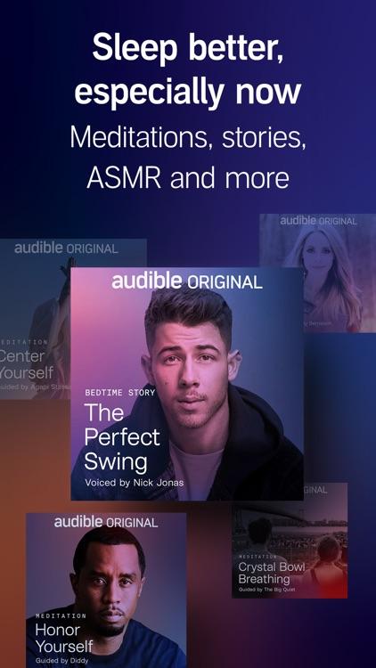 Audible audio books & stories screenshot-4