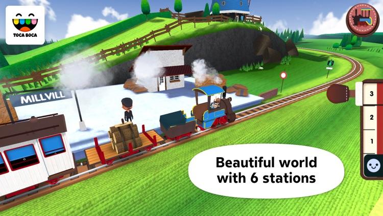 Toca Train screenshot-4