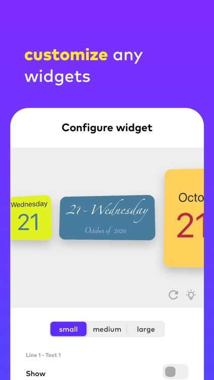 any.Widget screenshot-6